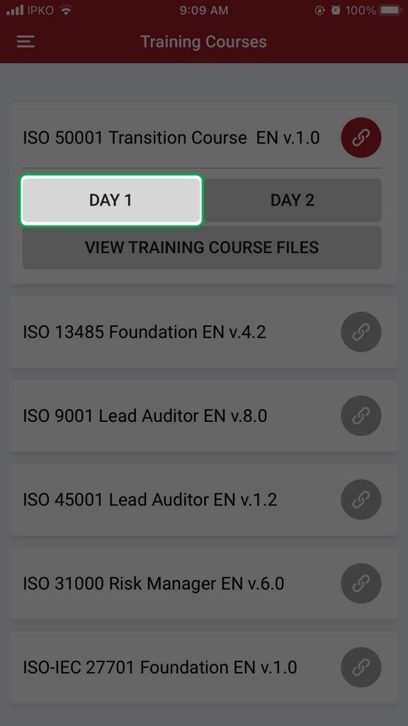 KATE IOS Open course files